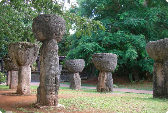 stone structures in guam